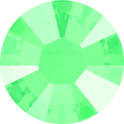 Swarovski style # 2038 & 2078 Flatback Hot Fix Crystal Mint Green Hot Fix