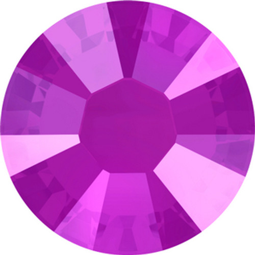 Swarovski style # 2058 & 2088 Flatback Crystal Peony Pink
