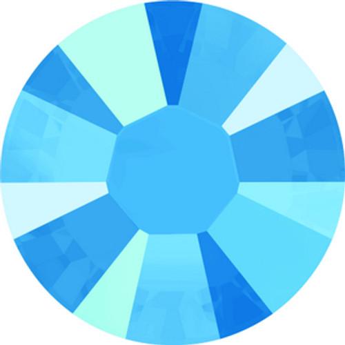 Swarovski style # 2058 & 2088 Flatback Crystal Summer Blue