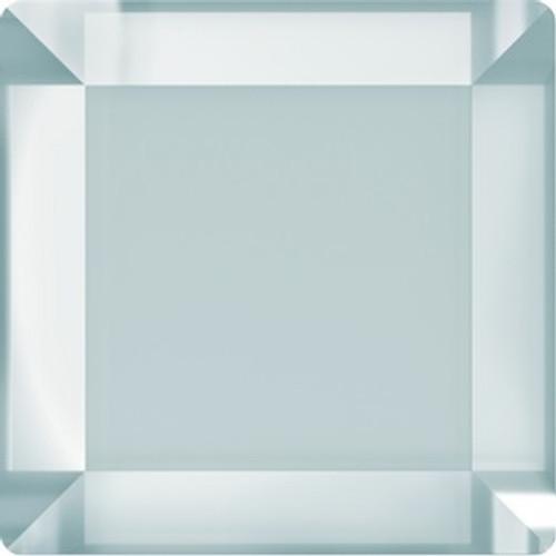 Swarovski style # 2402 Base Flatback Crystal Silver Night