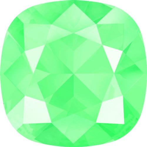 Swarovski style # 4470 Cushion Fancy Stones Crystal Mint Green