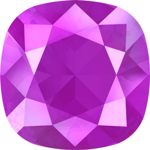 Swarovski style # 4470 Cushion Fancy Stones Crystal Peony Pink