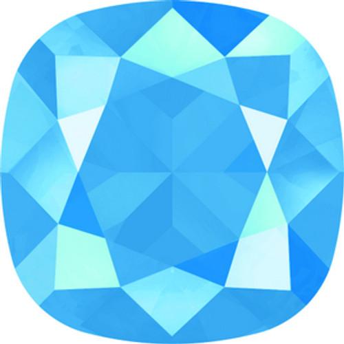 Swarovski style # 4470 Cushion Fancy Stones Crystal Summer Blue