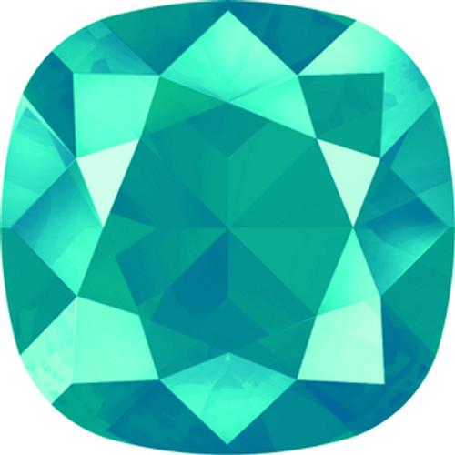 Swarovski style # 4470 Cushion Fancy Stones Crystal Azure Blue
