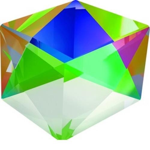 Swarovski style # 4933 Tilted Dice Fancy Stones Crystal VMZ-CAL-VSI