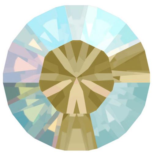 Swarovski 1088 24ss Xirius Round Stones Black Diamond Shimmer