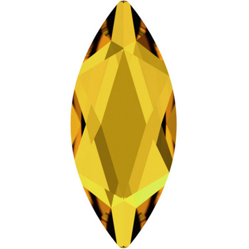 Swarovski 2201 8mm Marquise Flatback Sunflower