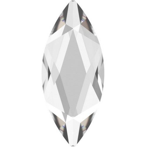 Swarovski 2201 14mm Marquise Flatback Crystal Hot Fix