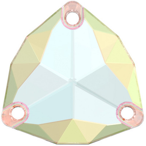 Swarovski 3272 20mm Trilliant Sew On Stones Crystal AB