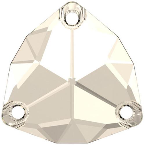 Swarovski 3272 20mm Trilliant Sew On Stones Crystal Silver Shade