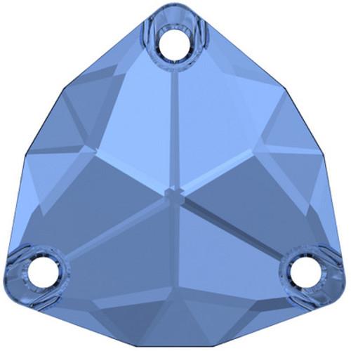 Swarovski 3272 20mm Trilliant Sew On Stones Sapphire