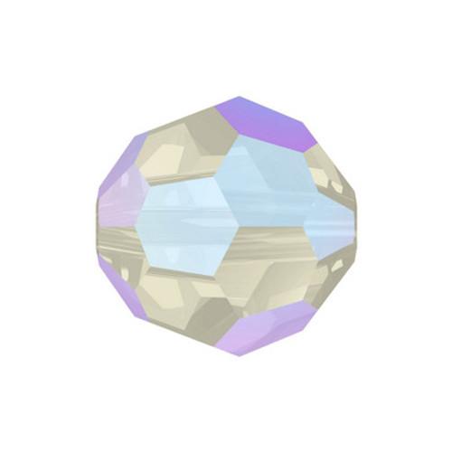 Swarovski 5000 8mm Round Beads Black Diamond Shimmer