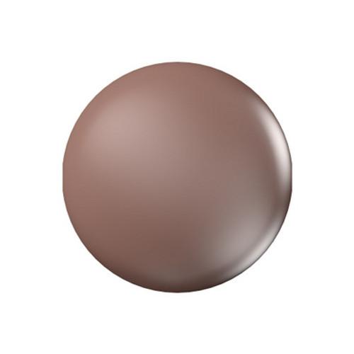 Swarovski 5860 10mm Crystal Coin Pearl Crystal Velvet Brown Pearl