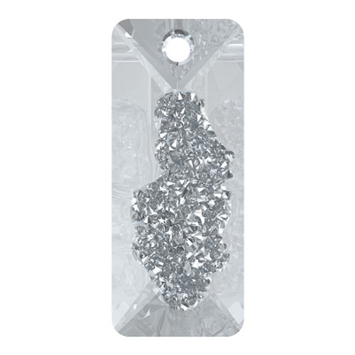 Swarovski 6925 26mm Growing Crystal Rectangle Pendants Crystal