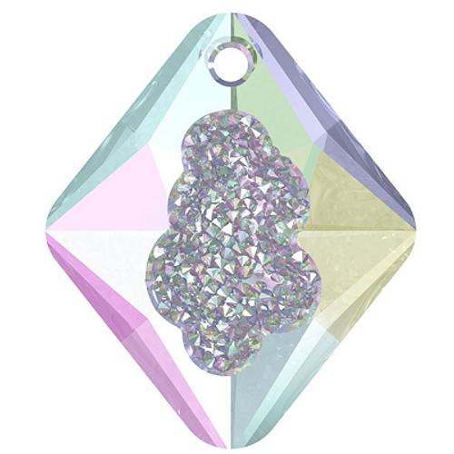 Swarovski 6926 26mm Growing Crystal Rhombus Pendants Crystal AB
