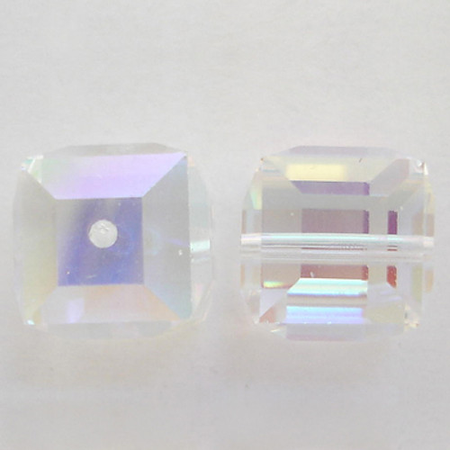 Swarovski 5601 6mm Cube Beads Citrine