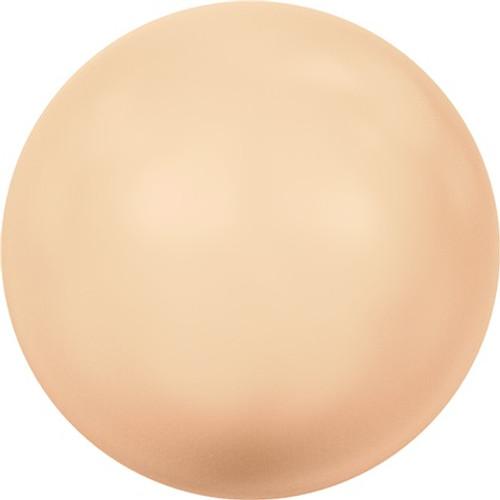 Swarovski 5810 12mm Round Pearls Peach (50  pieces)
