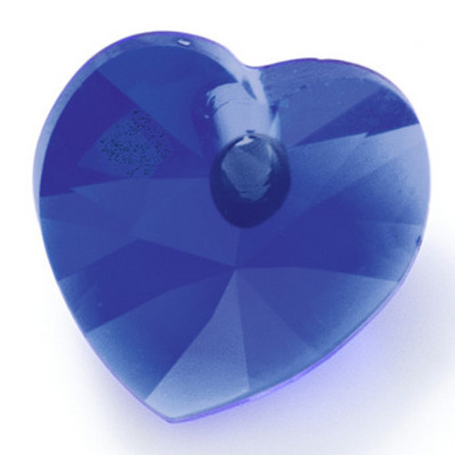 Swarovski 6228 10mm Xilion Heart Pendants Majestic Blue (288 pieces)