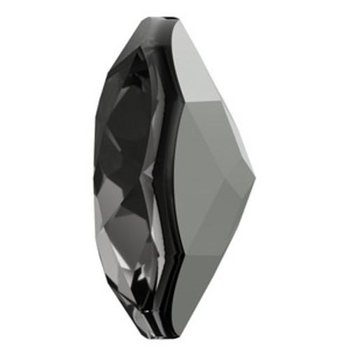 Swarovski 6430 14mm Classic Cut Pendant Crystal Silver Night  Pendants