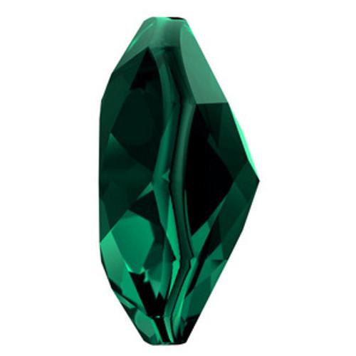 Swarovski 6430 14mm Classic Cut Pendant Emerald  Pendants