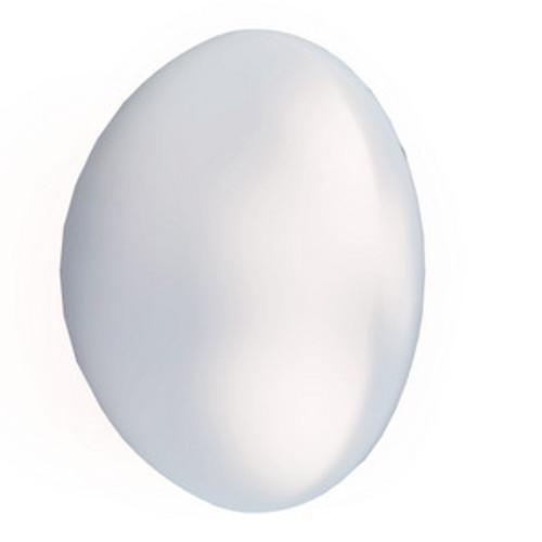 Swarovski 5817 8mm Half-Dome Pearls Crystal Iridescent Dove Grey  Pearls