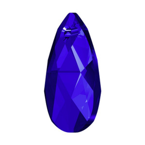 Swarovski 6106 22mm Pearshape Pendants Majestic Blue  Pendants