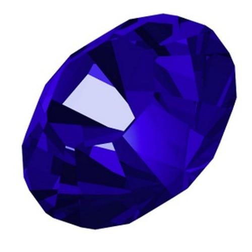 Swarovski 1088 34ss Xilion Round Stones Majestic Blue  Round Stones