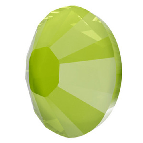 Swarovski 2038 10ss Flatback Hot Fix Crystal Lime Hot Fix  Flatbacks