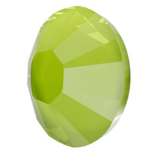 Swarovski 2038 10ss Flatback Hot Fix Crystal Lime Hot Fix  Flatbacks