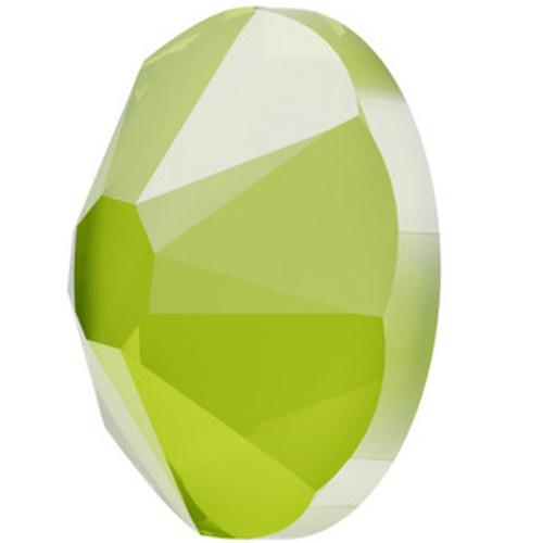 Swarovski 2088 20ss Flatback Crystal Lime  Flatbacks