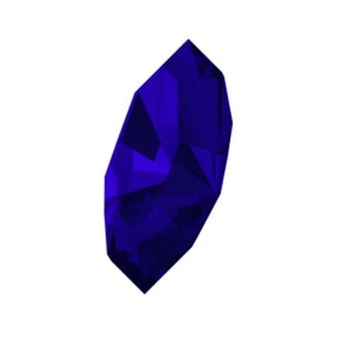 Swarovski 4228 5mm Xilion Navette Fancy Stones Majestic Blue  Fancy Stones