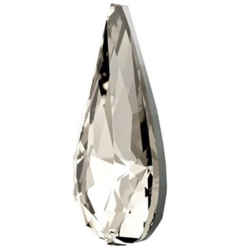 Swarovski 4322 10mm Teardrop Fancy Stones Crystal Silver Shade  Fancy Stones