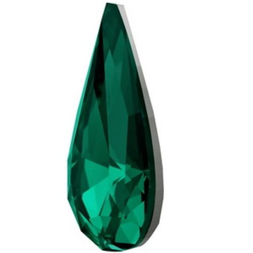 Swarovski 4322 22mm Teardrop Fancy Stones Emerald  Fancy Stones