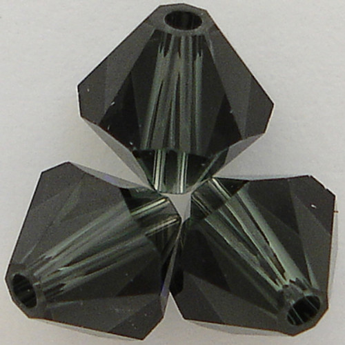 Swarovski Crystal 5328 Bicone Bead Morion