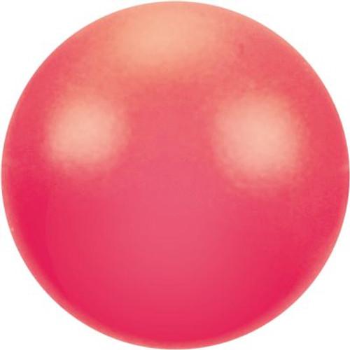 On Sale: Swarovski 5810 8mm Round Pearls Neon Red (50  pieces)