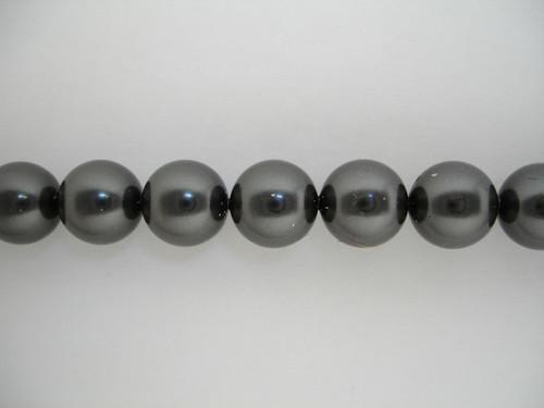Swarovski 5810 2mm Round Pearls Black (1000 pieces)