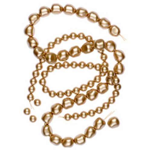 Swarovski 5810 2mm Round Pearls Vintage Gold (1000 pieces)