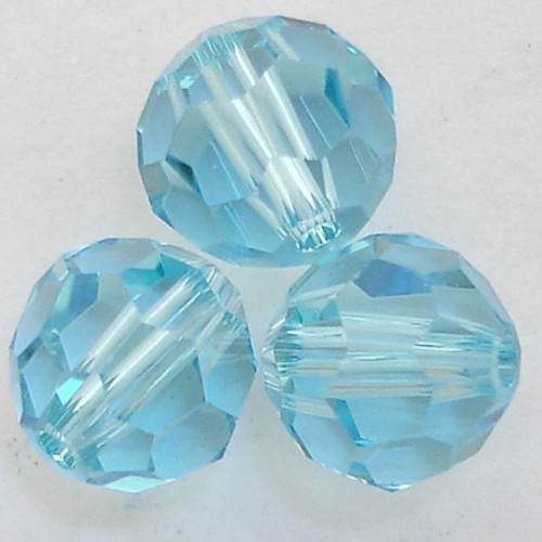 Swarovski 5000 2mm Round Beads Aquamarine (1440  pieces)
