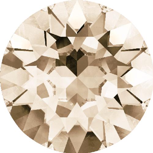 Swarovski 1088 39ss Xirius Round Stones Light Silk (144 pieces)