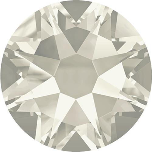 Swarovski 2058 20ss(~4.7mm) Xilion Flatback Crystal Silver Shade