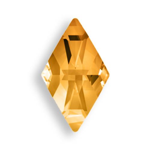Swarovski 2709 10mm Rhombus Flatback Crystal Copper