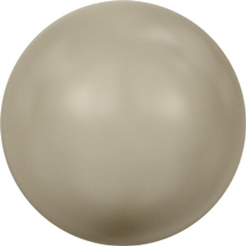 Swarovski 5810 6mm Round Pearls Platinum