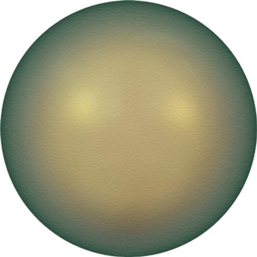 Swarovski 5810 8mm Round Pearls Crystal Iridescent Green Pearl (50 pieces)
