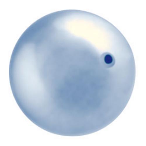 On Hand: Swarovski 5810 8mm Round Pearls Light Blue (50  pieces)