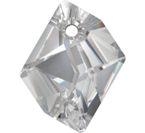 On Hand: Swarovski 6680 14mm Cosmic Pendant Crystal Silver Shade (4  pieces)