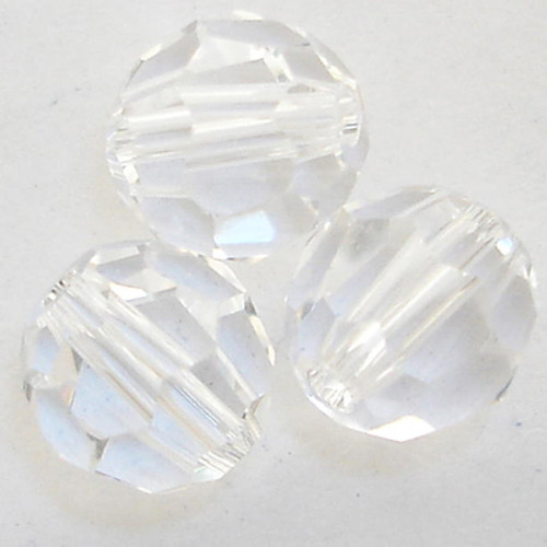 On Hand: Swarovski 5000 10mm Round Beads Crystal  (12 pieces)