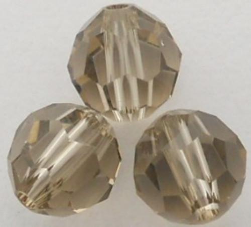 On Hand: Swarovski 5000 10mm Round Beads Greige  (12 pieces)