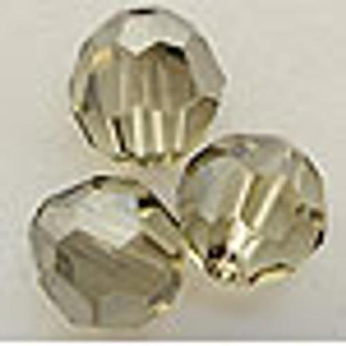 On Hand: Swarovski 5000 10mm Round Beads Jonquil Satin  (12 pieces)