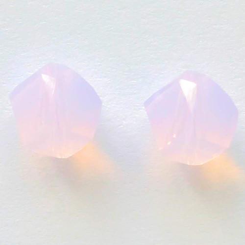 Swarovski 5020 6mm Helix Beads Rose Water Opal