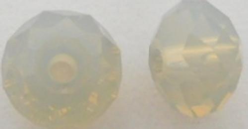 Swarovski 5040 8mm Rondelle Beads Sand Opal
